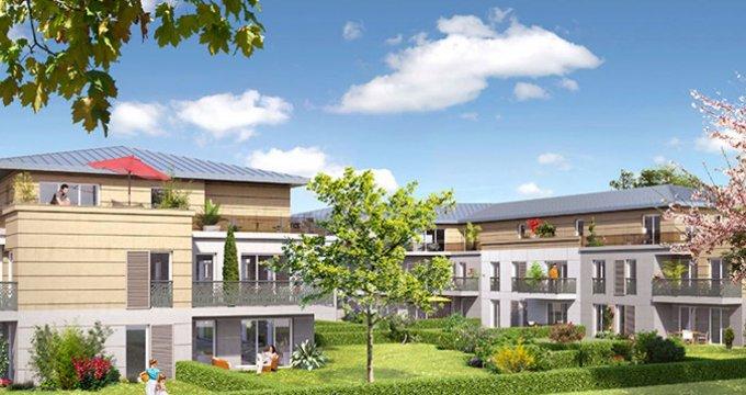Achat / Vente immobilier neuf Villennes sur Seine dans un écrin de verdure (78670) - Réf. 2128