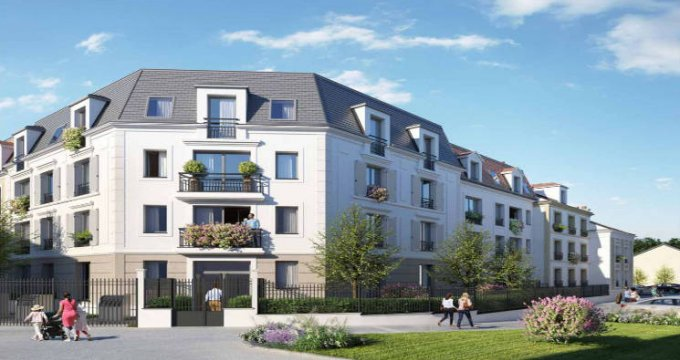 Achat / Vente immobilier neuf Villiers-le-Bel en plein centre-ville (95400) - Réf. 5929