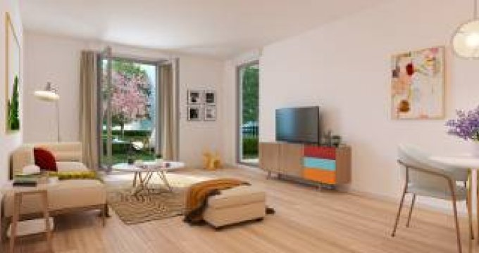 Achat / Vente immobilier neuf Villiers-le-Bel proche gare (95400) - Réf. 5854