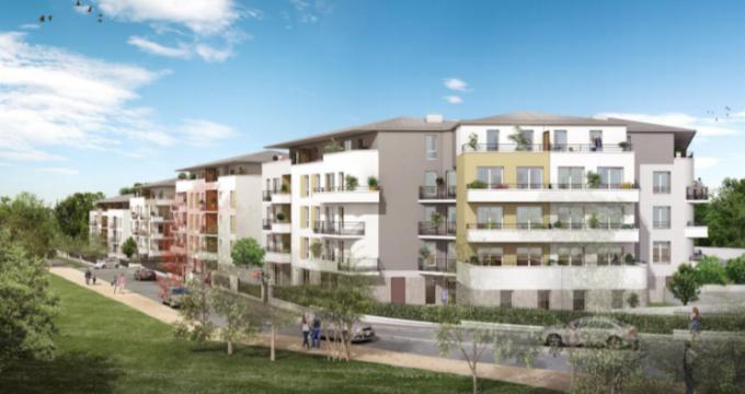 Achat / Vente immobilier neuf Villiers-le-Bel proche RER D (95400) - Réf. 5529