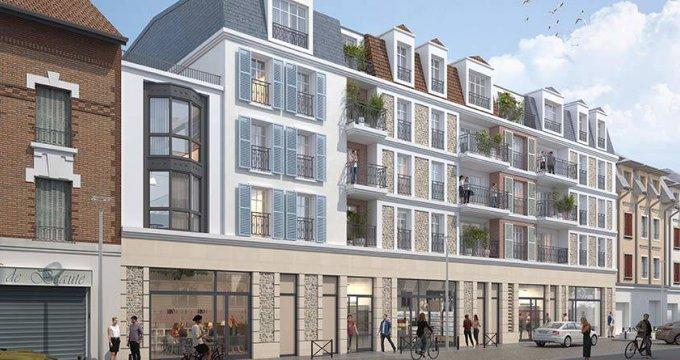 Achat / Vente immobilier neuf Villiers-sur-Marne à deux pas du RER E (94350) - Réf. 6174