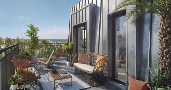 Achat / Vente immobilier neuf Viroflay proche RER C et Transilien N (78220) - Réf. 5040