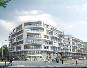 Achat / Vente immobilier neuf Aubervilliers à deux pas du canal (93300) - Réf. 3878