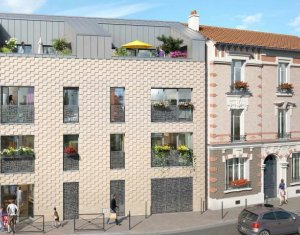 Achat / Vente immobilier neuf Aubervilliers proche mairie (93300) - Réf. 863