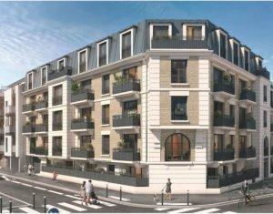 Achat / Vente immobilier neuf Aulnay-sous-Bois à 550 m de la gare RER B (93600) - Réf. 5848