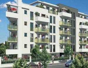 Achat / Vente immobilier neuf Aulnay-sous-Bois proche parc de Sausset (93600) - Réf. 3263