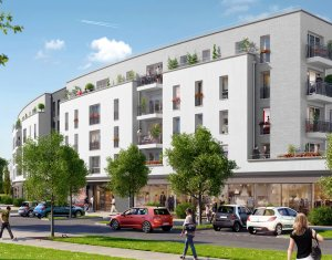 Achat / Vente immobilier neuf Bailly-Romainvilliers au cœur de la ville nouvelle de Marne-la-Vallée (77700) - Réf. 241