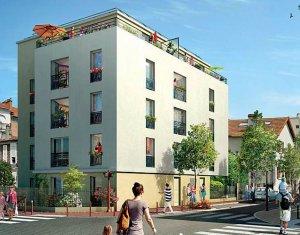 Achat / Vente immobilier neuf Bondy proche de la gare RER (93140) - Réf. 995