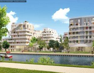 Achat / Vente immobilier neuf Bondy sur les rives du canal de l'Ourcq (93140) - Réf. 4041