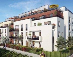 Achat / Vente immobilier neuf Cachan sur les hauteurs de la ville secteur résidentiel (94230) - Réf. 1937