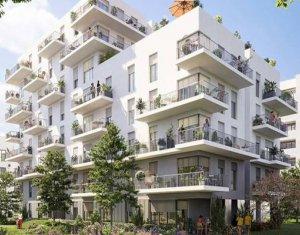 Achat / Vente immobilier neuf Cergy au sein d'un nouvel écoquartier (95000) - Réf. 6084