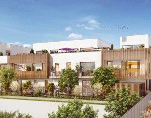 Achat / Vente immobilier neuf Chevilly-Larue éco-quartier Les Portes d'Orly (94550) - Réf. 2177