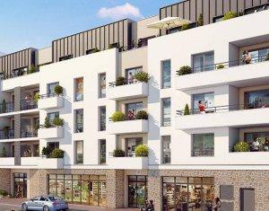 Achat / Vente immobilier neuf Drancy proche de la station Le Bourget (RER B + T11) (93700) - Réf. 6204