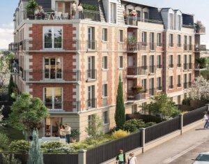 Achat / Vente immobilier neuf Gagny à deux pas de la gare de Chénay Gagny (93220) - Réf. 5860