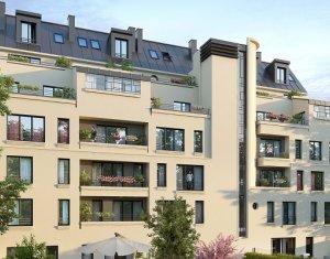 Achat / Vente immobilier neuf Gagny proche RER E (93220) - Réf. 3873
