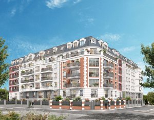 Achat / Vente immobilier neuf Gagny proche RER E (93220) - Réf. 4056