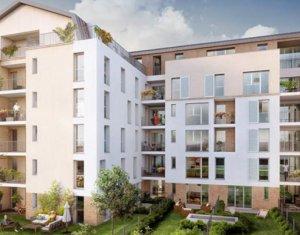 Achat / Vente immobilier neuf Gagny proche RER E (93220) - Réf. 2847
