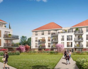 Achat / Vente immobilier neuf Jouy-le-Moutier proche Cergy-Pontoise (95280) - Réf. 2725