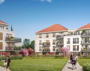 Achat / Vente immobilier neuf Jouy-le-Moutier quartier Eguerets-Bruzacques (95280) - Réf. 3269