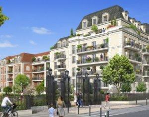 Achat / Vente immobilier neuf Le Blanc-Mesnil proche du Parc Jacques Duclos (93150) - Réf. 2508