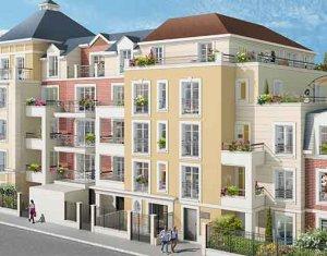 Achat / Vente immobilier neuf Le Blanc-Mesnil proche quartier de la gare (93150) - Réf. 2518