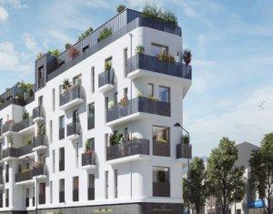Achat / Vente immobilier neuf Le Bourget à 3min à pied du RER B (93350) - Réf. 5820