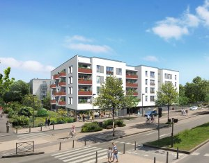 Achat / Vente immobilier neuf Les Mureaux à l'entrée du Pôle Molière (78130) - Réf. 1608