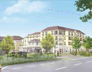 Achat / Vente immobilier neuf Montévrain proche commerces (77144) - Réf. 3204