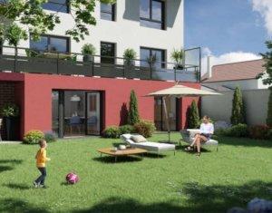 Achat / Vente immobilier neuf Neuilly-sur-Marne proche éco-quartier Maison Blanche (93330) - Réf. 2653