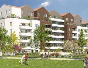 Achat / Vente immobilier neuf Neuilly-sur-Marne proche Parc Maison Blanche (93330) - Réf. 2659