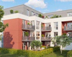Achat / Vente immobilier neuf Pontault-Combault proche groupe scolaire Jean Moulin (77340) - Réf. 3964