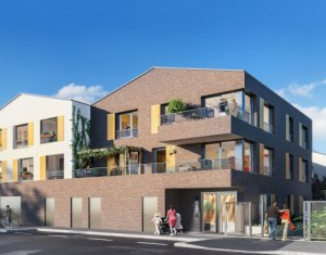 Achat / Vente immobilier neuf Romainville proche future station de tramway T1 (93230) - Réf. 5045