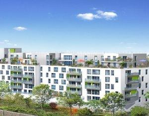 Achat / Vente immobilier neuf Rosny-sous-Bois écoquartier de la Mare Huguet (93110) - Réf. 1609