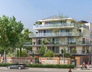 Achat / Vente immobilier neuf Saint-Cloud face au Parc des Avelines (92210) - Réf. 705