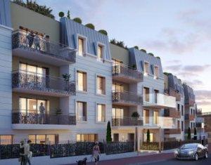 Achat / Vente immobilier neuf Saint-Cloud proche stade des Coteaux (92210) - Réf. 2788