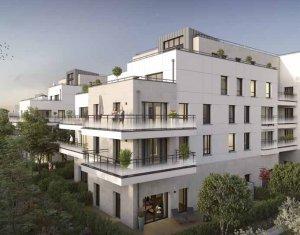 Achat / Vente immobilier neuf Saint-Maur-des-Fossés écoquartier Jardin des Facultés (94100) - Réf. 3692