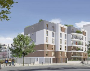 Achat / Vente immobilier neuf Stains proche parc de Courneuve (93240) - Réf. 5852