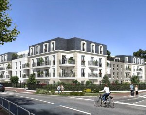 Achat / Vente immobilier neuf Vernouillet proche gare Paris-Saint-Lazare-Mantes-La-Jolie (78540) - Réf. 2116