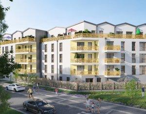 Achat / Vente immobilier neuf Villepinte au cœur de l'éco-quartier La Pépinière (93420) - Réf. 5925