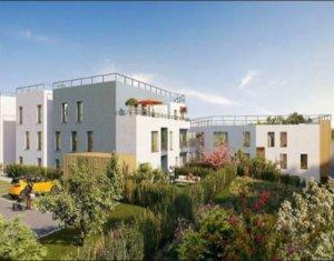 Achat / Vente immobilier neuf Villetaneuse face Parc de la Butte-Pinson (93430) - Réf. 2903