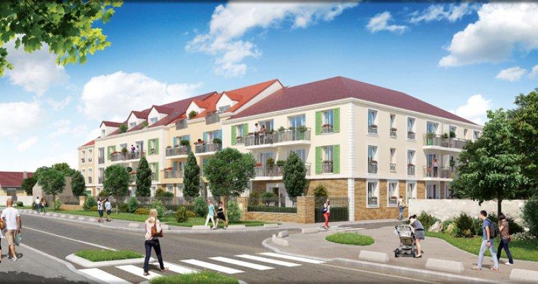 Achat / Vente immobilier neuf Achères proche du centre-ville (78260) - Réf. 2883