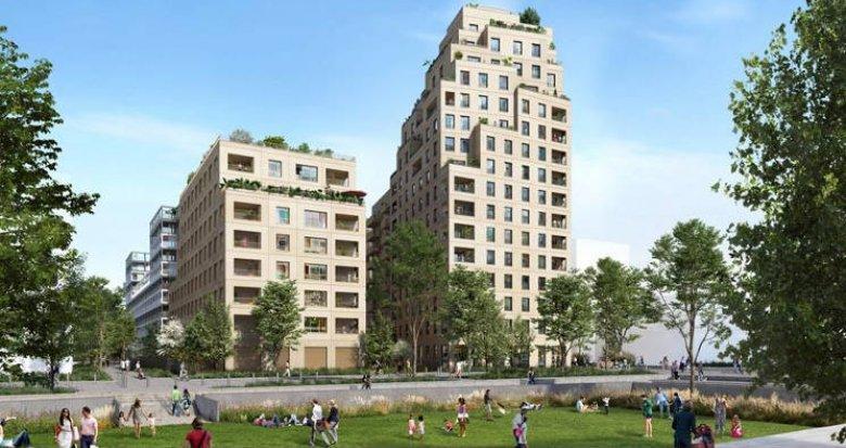 Achat / Vente immobilier neuf Asnières-sur-Seine au cœur quartier  Seine Ouest (92600) - Réf. 5278