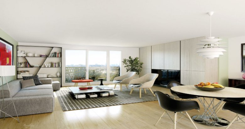 Achat / Vente immobilier neuf Aubervilliers à 850m du RER B (93300) - Réf. 5629