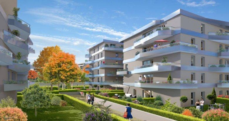 Achat / Vente immobilier neuf Aulnay-sous-Bois proche parc départemental (93600) - Réf. 4135