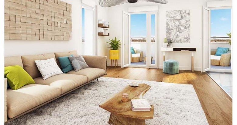 achat immobilier neuf bagnolet c t lilas 93170 r f 2164. Black Bedroom Furniture Sets. Home Design Ideas