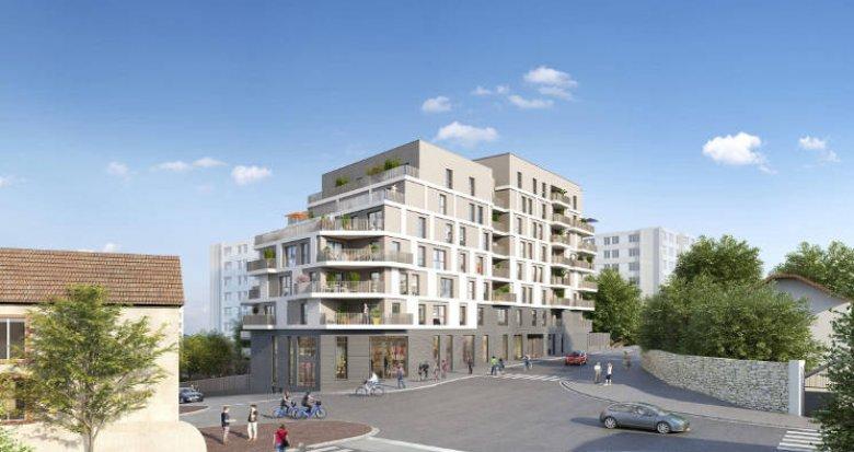 Achat / Vente immobilier neuf Bagnolet proche de la ligne 3 du métro (93170) - Réf. 5479