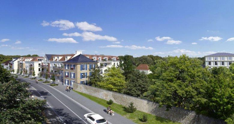 Achat / Vente immobilier neuf Ballainvilliers à deux pas du Château (91160) - Réf. 5446