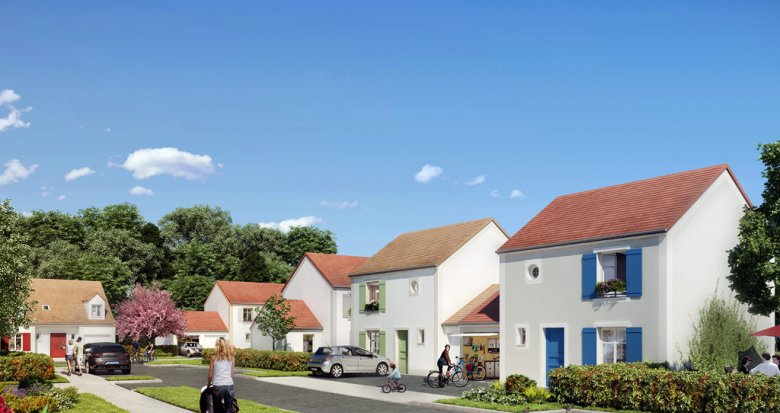 Achat / Vente immobilier neuf Ballancourt-sur-Essonne centre-ville (91610) - Réf. 580