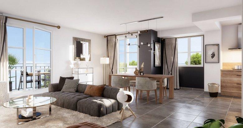 Achat / Vente immobilier neuf Blanc-Mesnil proche du centre-ville (93150) - Réf. 6248