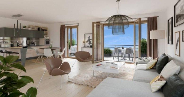 Achat / Vente immobilier neuf Bois d'Arcy cœur quartier de la Croix Bonnet (78390) - Réf. 3233